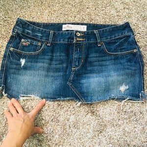 🎈3 for $20🎉 Hollister Jean Mini Skirt Sz 7